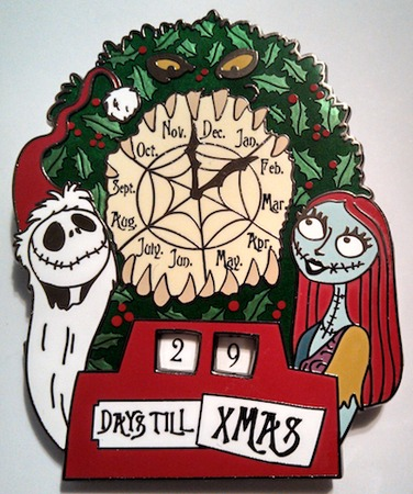 View Pin: Nightmare Before Christmas Countdown Pin with Easel