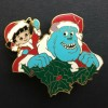 33529 - DS - 12 Months of Magic Christmas Wreath Series - Boo and Sulley