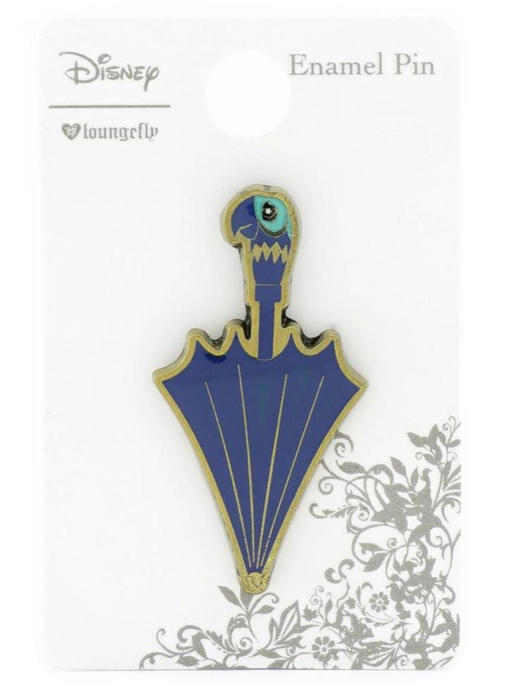 Disney Mary Poppins Parrot Umbrella Returns Loungefly Enamel Trading Pin