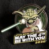 33862 - DLR/WDW - Star Wars May the 4th Be With You Yoda Pin