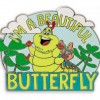 35010 - DLR/WDW - Heimlich as Butterfly Pin - A Bug's Life