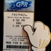 3095 - White Glove Fastpass - Grizzly River Rapids