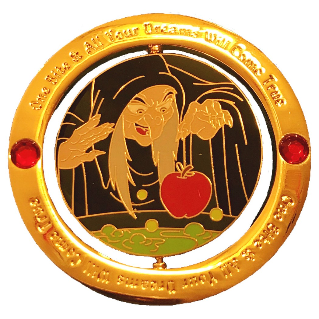 View Pin Dlr Enchanted Emblems Snow White And The Seven Dwarfs