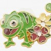 36413 - Loungefly Disney Tangled Pascal Flower Enamel Pin - BoxLunch Exclusive