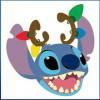 38437 - DSSH - Characters with Antlers - Stitch