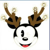 38435 - DSSH - Characters with Antlers - Mickey Mouse