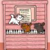 38558 - Loungefly - Aristocats Playing Piano