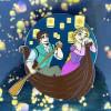 38613 - DLR/WDW - Tangled 10th Anniversary - Rapunzel and Flynn Jumbo