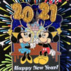 38739 - DLR - Happy New Year 2021 - Mickey & Minnie Mouse