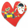 39318 - DS - Wall-E & Eve In Heart