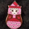 3584 - Nesting Dolls Mini Pin Pack - Flora ONLY