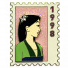 40129 - DEC - Postage Stamp Series - Mulan
