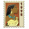 40136 - DEC - Postage Stamp Series - Pocahontas