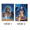 40855 - Loungefly - Star Wars Lenticular Poster - A New Hope