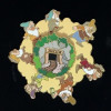 41784 - Disney Auctions (P.I.N.S.) - Seven Dwarfs Mineshaft (Spinner)