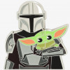 41976 - Loungefly - Star Wars: The Mandalorian - Mando with Grogu