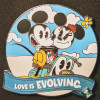 38618 - WDW - Celebrating 20 Years Pin Event - Re-Collections Trading Card & Pin - Love is An Adventure