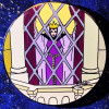 13133 - Disney Auctions - Elisabete Gomes - Evil Queen at Window