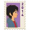 42437 - DEC - Postage Stamp Series - Hiro