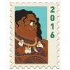 42438 - DEC - Postage Stamp Series - Maui