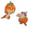 42526 - DLR/WDW - Halloween 2021 - Chip 'n Dale Pumpkin Set