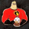 3885 - DSSH - Pin Trader Delight - Mr. Incredible