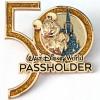 43020 - WDW - Walt Disney World 50th Anniversary - Passholder - Mickey with Cinderella's Castle