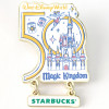 43021 - WDW - Starbucks Been There Series - 50th Anniversary Magic Kingdom