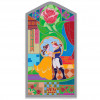 43100 - WDI - Beauty and the Beast Stained Glass Window