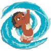 43114 - WDI - Moana - Ocean Wave Swirl Toddler Moana