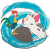 43116 - WDI - Moana - Ocean Wave Swirl Pua and Hei Hei