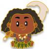43120 - WDI - Moana Adorbs Mystery Pin Set - Maui
