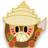 43123 - WDI - Moana Adorbs Mystery Pin Set - Kakamora Shell Head