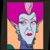 43142 - WDI - Pop Art Cinderella - Lady Tremaine Square 3