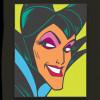 43147 - WDI - Pop Art Sleeping Beauty - Maleficent Square 3