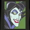 43148 - WDI - Pop Art Sleeping Beauty - Maleficent Square 4