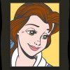 43155 - WDI - Pop Art Beauty and the Beast - Belle Square 1