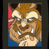 43158 - WDI - Pop Art Beauty and the Beast - Beast Square 4