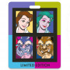 43159 - WDI - Pop Art Beauty and the Beast - Four Pin Set