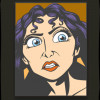 43173 - WDI - Pop Art Tangled - Mother Gothel Square 4