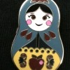 3576 - Nesting Dolls Mini Pin Pack - Snow White ONLY