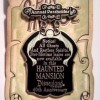34 - DLR - Haunted Mansion® O'Pin House - Annual Passholder Preview Sign Pin
