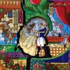 4365 - Beauty and the Beast Puzzle Pin Stain Glass Window Set