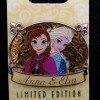 4588 - WDI Princess Plaque Pin - Anna & Elsa