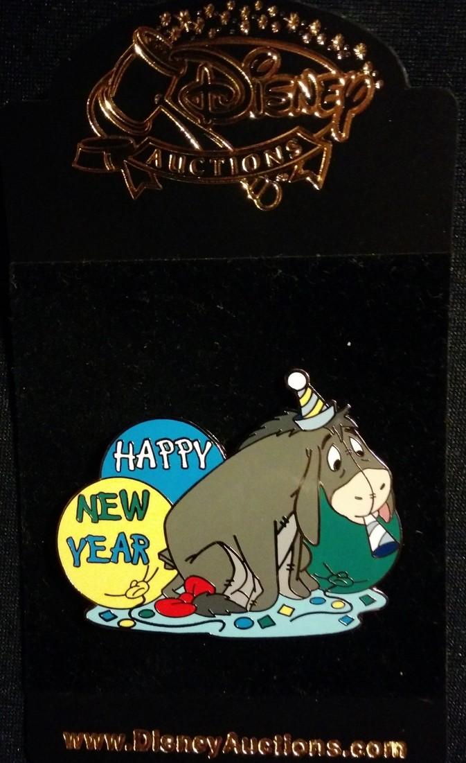 5103 eeyore happy new year disney auctions