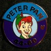 1602 - WDW - 2014 Hidden Mickey Series - Magic Kingdom Heroes Parking Sign - Peter Pan