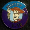 1605 - WDW - 2014 Hidden Mickey Series - Magic Kingdom Heroes Parking Sign - Woody