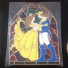 5508 - DisneyShopping.com - Stained Glass Prince & Princess - Belle and Prince